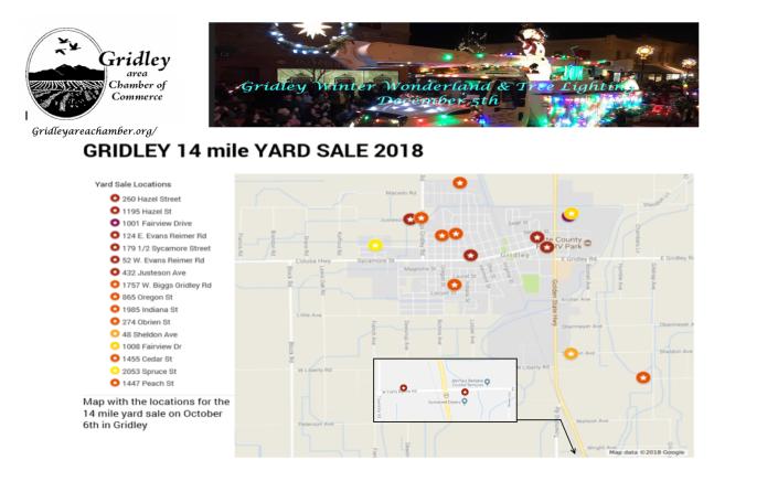 Gridley Yard Sale